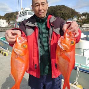 2月19日(水)キンメ釣果