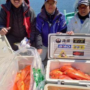 3月25日(水)キンメ釣果