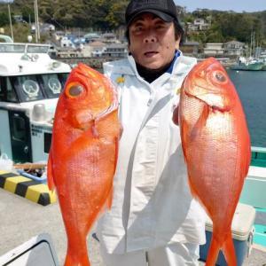 4月8日(水)キンメ釣果