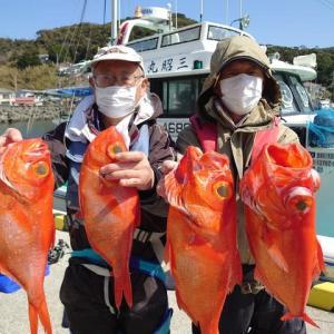 3月10日(水)新島キンメ釣果