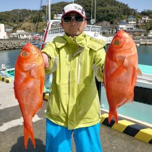 3月17日(水)キンメ釣果