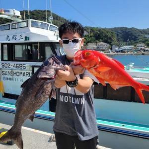 9月24日(金)キンメ出船 釣果