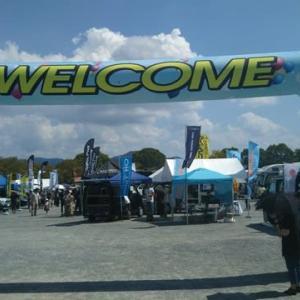 キャンピングカーフェア と ペットフェスティバル