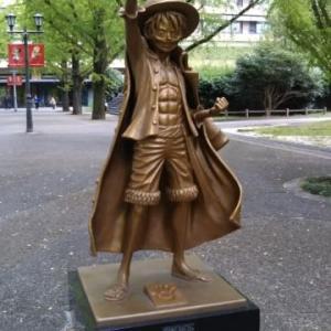 熊本県庁にある像