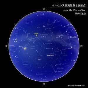 ペルセウス座流星群を見に行きました🌌