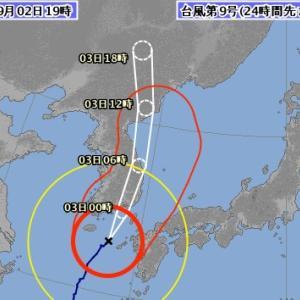 ダブル台風🌀