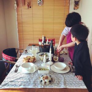 冬の日のお昼ごはんとスモアタルト