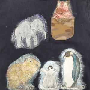 動物達とカピバラ