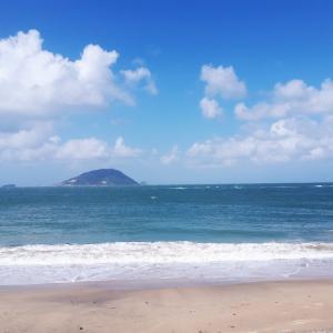 志賀島(しかのしま)でアーシング