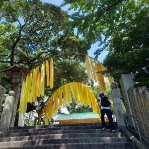 8月の朔日詣りは宮地嶽神社へ