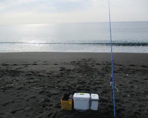 大磯東(北浜)海岸のキス釣り
