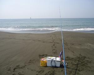 令和初、平塚西海岸キス釣り