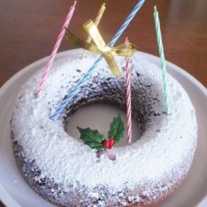 ショコラリースXmasケーキ