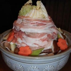 白菜たっぷり味噌タワー鍋