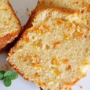 伊予柑ピールのパウンドケーキ