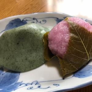 大安の本日は、和菓子の日