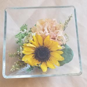 記念のお花を残す