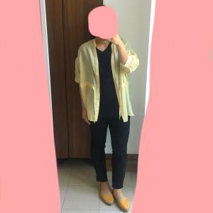 本日の服装*6ヶ月妊婦