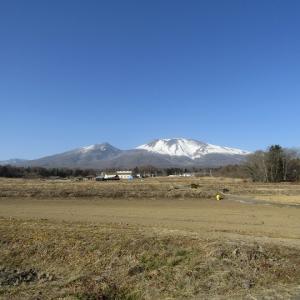 浅間山が綺麗に見えます。