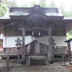 新海三社神社に行ってきました。