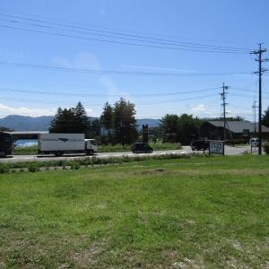 軽井沢は夏空です。