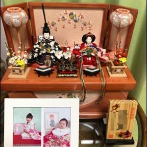お雛飾り☆2019年☆出すのうっかり忘れそうだよね。