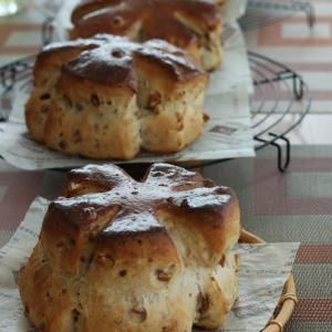 ティロワ 天然酵母パン教室 52回目 &ヒヨリブロートパン販売