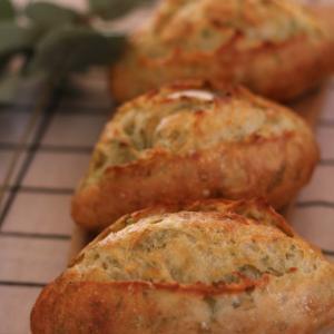 werry-bread天然酵母パン教室(あおさとバターのクッペ) 65回