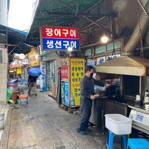 鍾路3街(チョンノサムガ)焼き魚定食