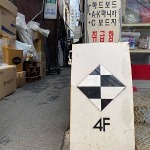 芳山市場(バンサンシジャン)路地裏の隠れ家カフェ「4F Cafe」