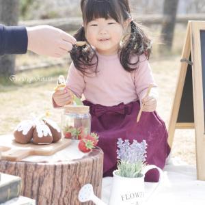 【お写真紹介】Sちゃん2歳のバースデーフォト