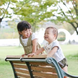【お写真紹介】AちゃんKくんのバースデーフォト撮影!
