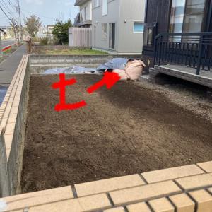 【家庭菜園】忘れてた2tの土…