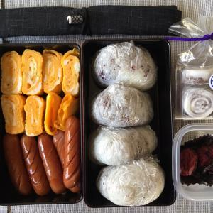 ピクニックと籾殻燻炭