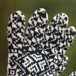手袋の編み始め位置