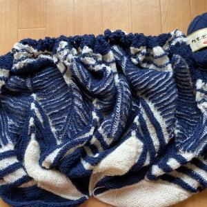star flake shawl section7