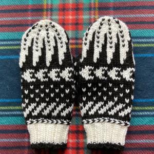 編み物実験