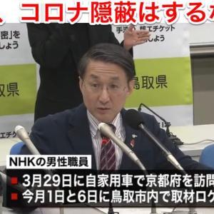鳥取県で二例目のコロナ患者
