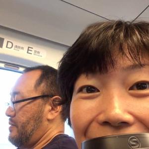 【希美日記】広島に向かっています