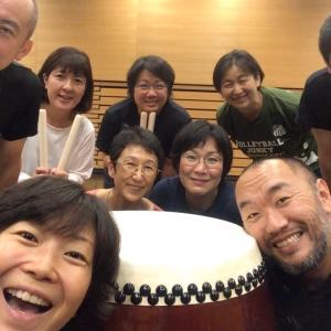 【和太鼓教室】30回目ありがとうございました(^_^)