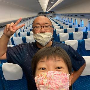 【旅日記】無事に広島へ向かう2人☺️