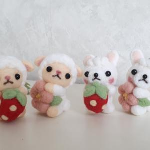 ☆オーダー品☆ウサギ&柴犬ちゃんも完成~♪