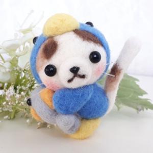 ☆羊毛フェルト☆三毛猫ちゃんが変身~♪
