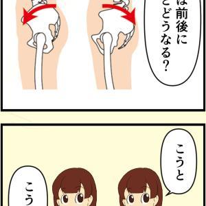 「骨盤の歪み」「骨盤矯正」って何するの?漫画ver