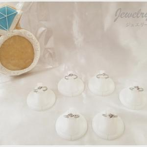 0.1ctダイヤモンドリング