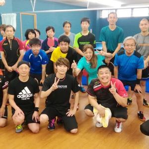 櫻井コーチによるサービス講習会[卓球/草加]