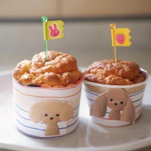 うちの子記念日の 手作りのケーキ・・・・です