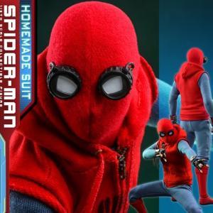 ホットトイズ1/6スケール スパイダーマン ファー フロム ホーム版ホームメイドスーツ