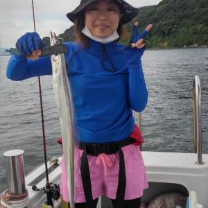 今日から8月、タチ釣り