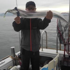 今日のタチちゃん、タチ釣り出港